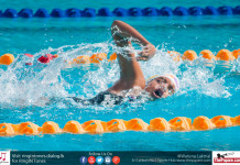 Inter international swimming meet