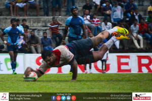 Air force v Kandy - Dialog Rugby 2015