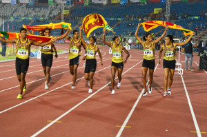 sri lankan athletics womens