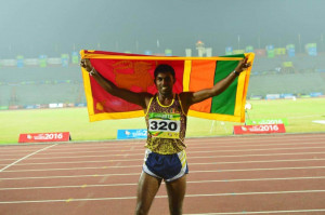 sri lankan athletics