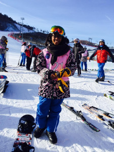 Azquiya Usuph secures a Gold medal in Snowboarding