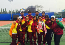 Six medals from Tennis for Sri Lanka at SAG