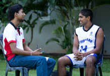 Sri Lanka schools Basketball player